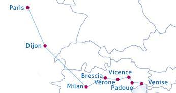 lyon italie en train